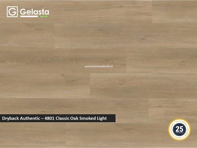 Gelasta Dryback Authentic - 4801 Classic Oak Smoked Light