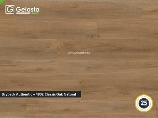 Gelasta Dryback Authentic - 4802 Classic Oak Natural