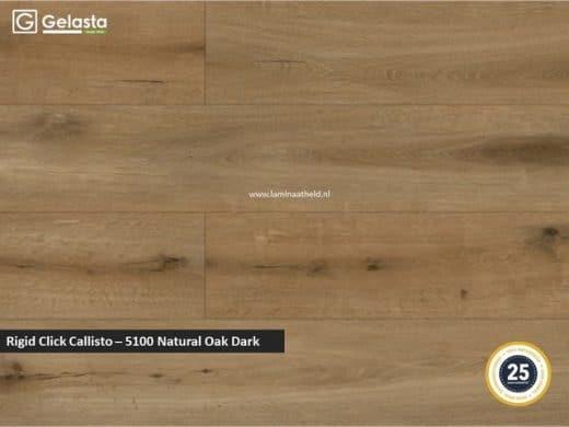 Gelasta Rigid Click Callisto - 5100 Natural Oak Dark