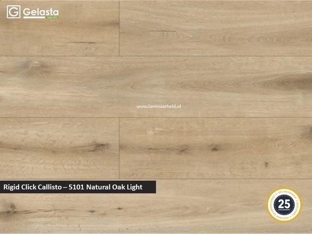 Gelasta Rigid Click Callisto - 5101 Natural Oak Light