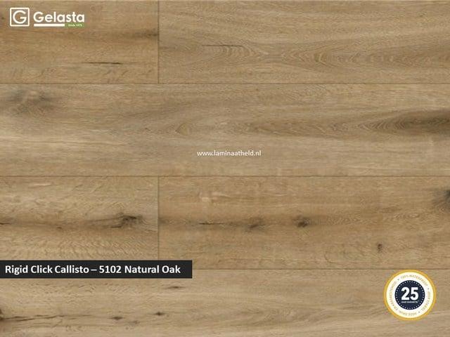 Gelasta Rigid Click Callisto - 5102 Natural Oak