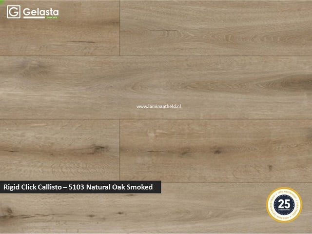 Gelasta Rigid Click Callisto - 5103 Natural Oak Smoked