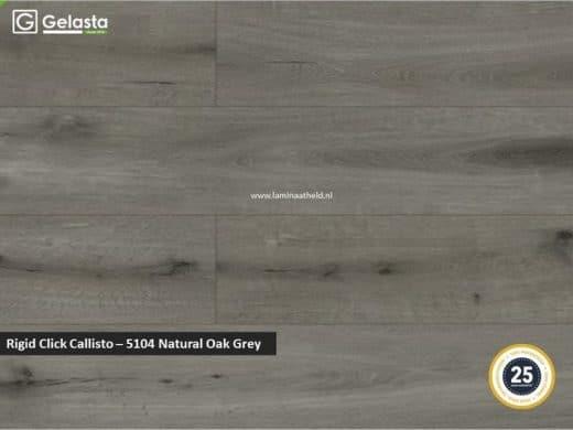 Gelasta Rigid Click Callisto - 5104 Natural Oak Grey
