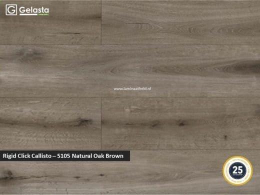 Gelasta Rigid Click Callisto - 5105 Natural Oak Brown