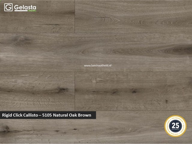 Gelasta Rigid Click Callisto - 5105 Natural Oak Brown