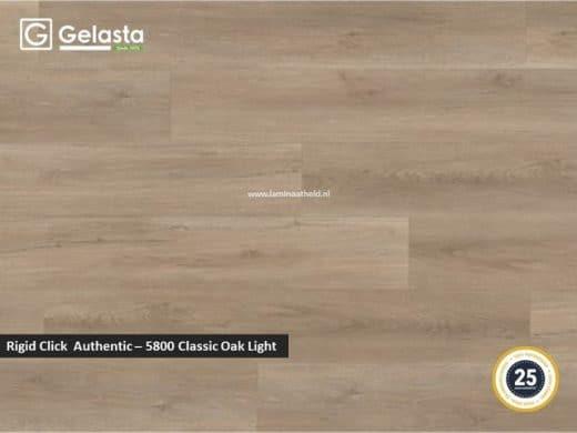 Gelasta Rigid Click Authentic - 5800 Classic Oak light