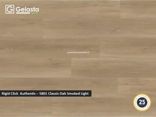 Gelasta Rigid Click Authentic - 5801 Classic Oak Smoked Light