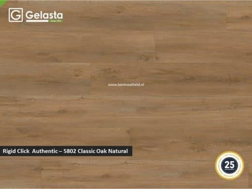 Gelasta Rigid Click Authentic - 5802 Classic Oak Natural