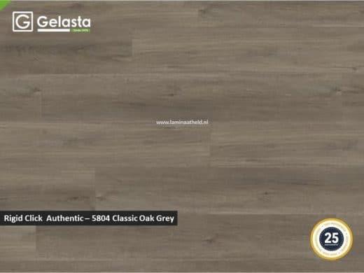 Gelasta Rigid Click Authentic - 5804 Classic Oak Grey