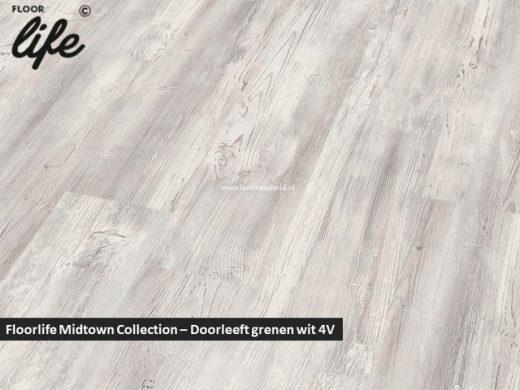 Floorlife Midtown Collection - Doorleeft grenen wit 2426 V4