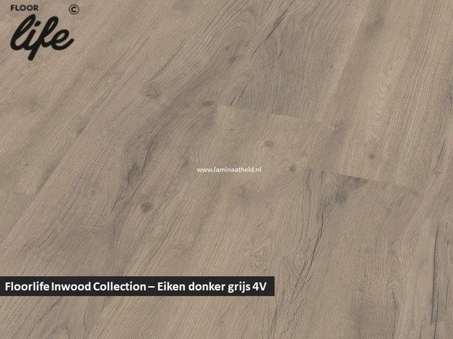 Floorlife Inwood Collection - Eiken donkergrijs 2424 V4