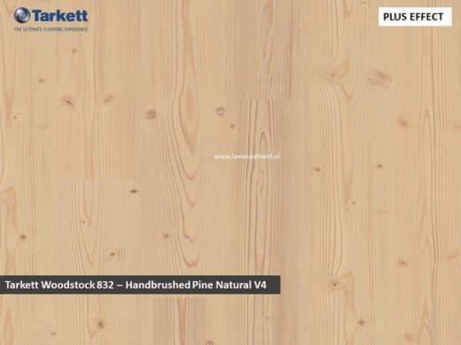 Tarkett Woodstock 832 V4 - Handbrussed Pine Natural