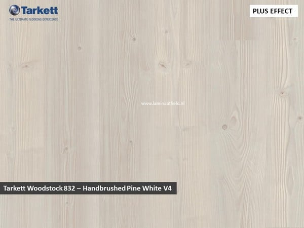 Tarkett Woodstock 832 V4 - Handbrussed Pine Pine White