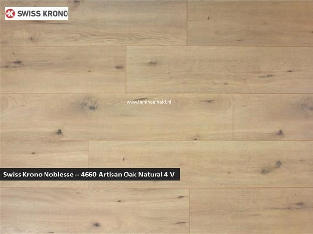Swiss Krono Noblesse - 4660 Artisan Oak natural V4