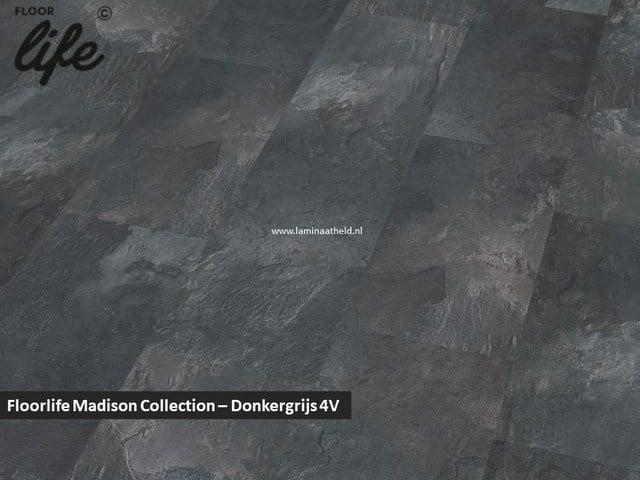 Floorlife Madison Square Collection - Donkergrijs 6394 V4