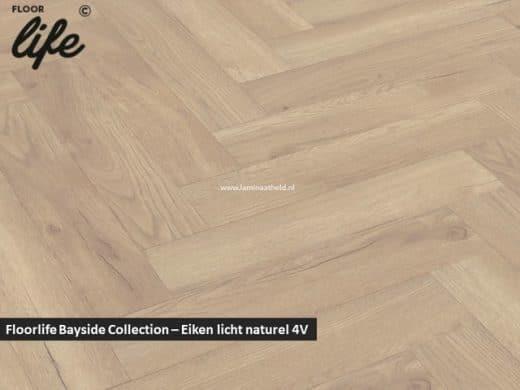Floorlife Bayside Collection (visgraat) - Eiken licht naturel V4 2425