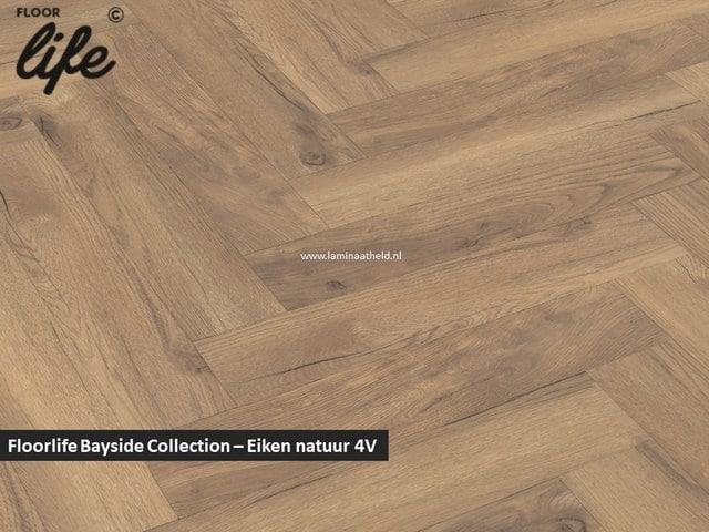 Floorlife Bayside Collection (visgraat) - Eiken natuur V4 2422