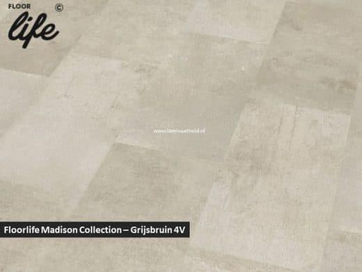 Floorlife Madison Square Collection - Grijsbruin 6390 V4