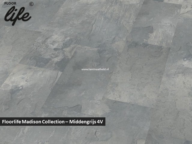 Floorlife Madison Square Collection - Middengrijs 6399 V4