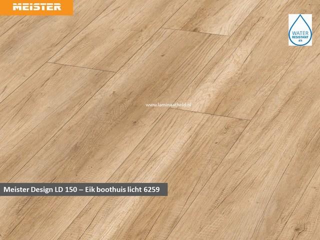 Meister Design LD 150 - Eik boothuis licht 6259
