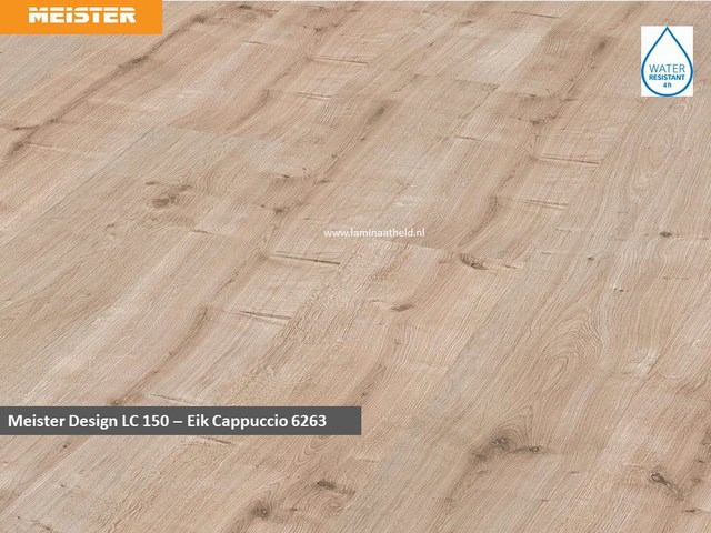 Meister Design LC 150 - 6263 Eik cappuccino