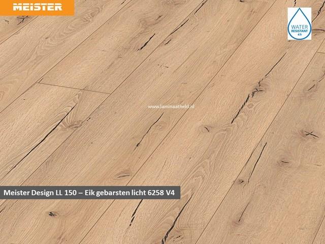 Meister Design LL150 - Eik gebarsten licht V4 6258