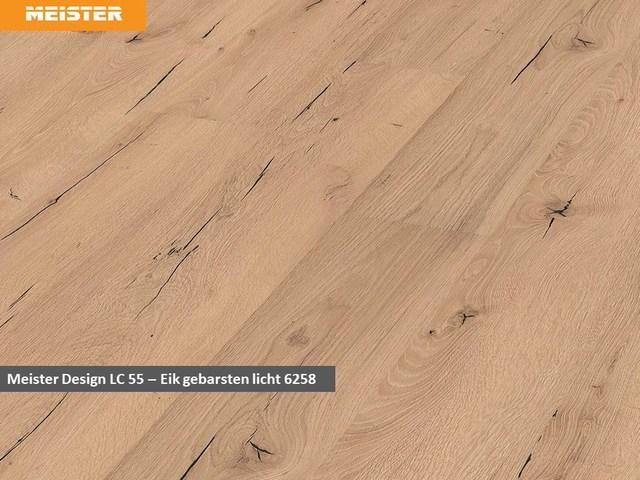 Meister Design LC 55 - 6258 Eik gebarsten licht