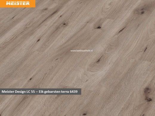 Meister Design LC 55 - 6439 Eik gebarsten Terra