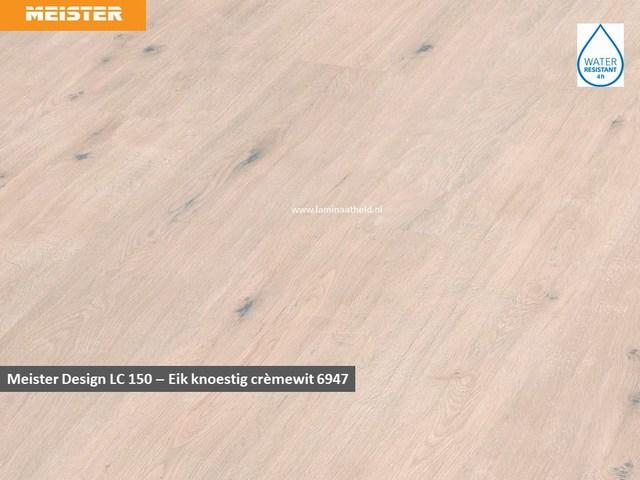 Meister Design LC 150 - 6947 Eik knoestig crèmewit