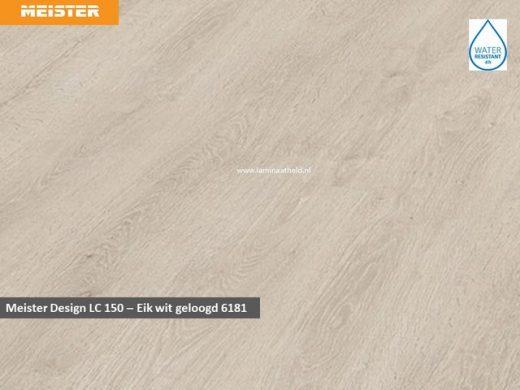 Meister Design LC 150 - 6181 Eik wit geloogt