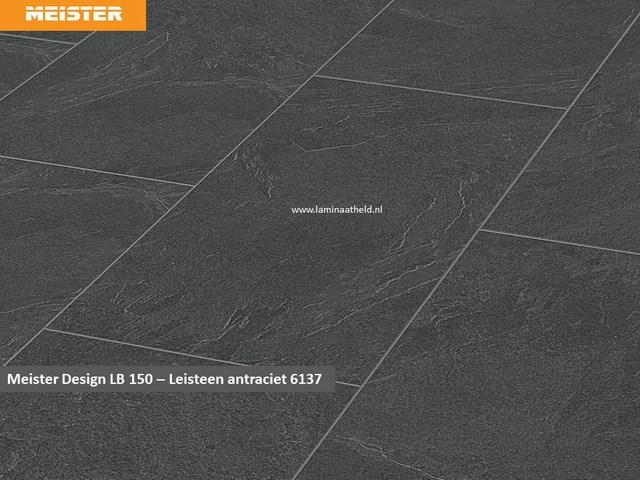 Meister Design LB150 - Leisteen antraciet V4 6137