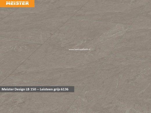 Meister Design LB150 - Leisteen grijs V4 6136