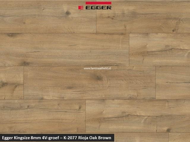 Egger Kingsize 8mm - Rioja Oak Brown K-2077 V4