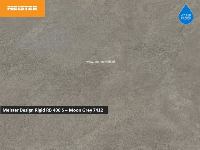 Meister Designvloer Rigid RB 400 S - Moon Grey 7412
