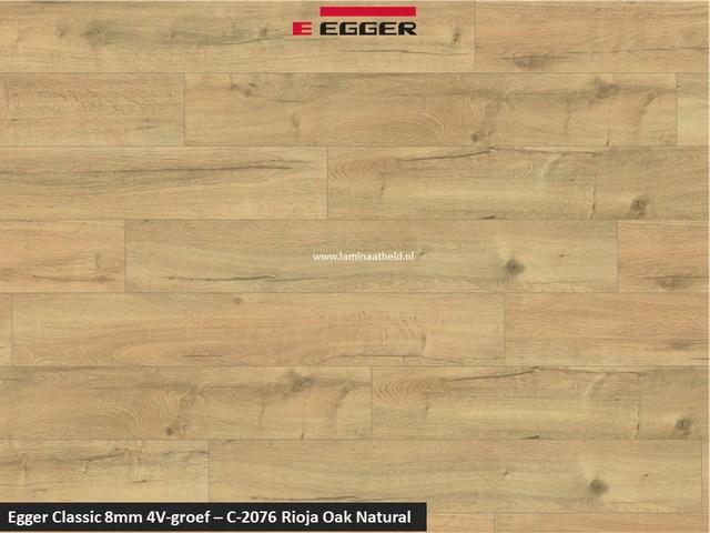 Egger Classic 8mm 4V - Rioja oak natural C-2076