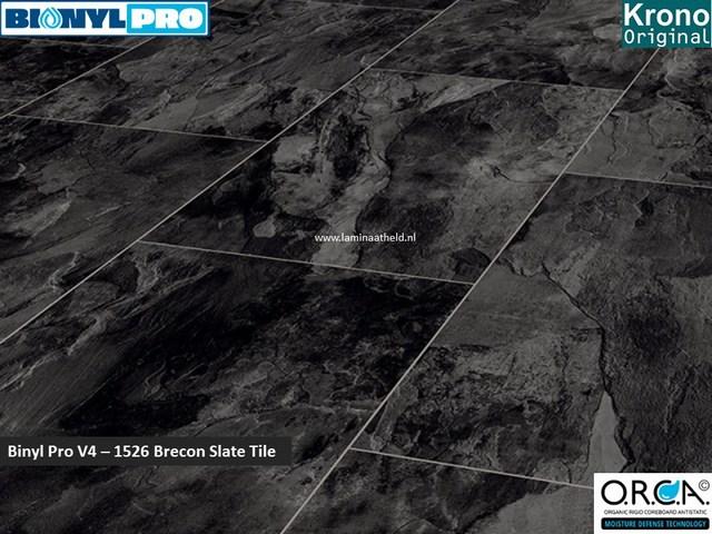 Binyl Pro V4 - 1526 Brecon Slate Tile