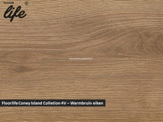 Floorlife Coney Island Collection - Warmbruin eiken V4