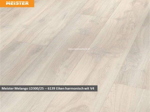 Meister LD300/25 - 6139 Eiken harmonisch wit