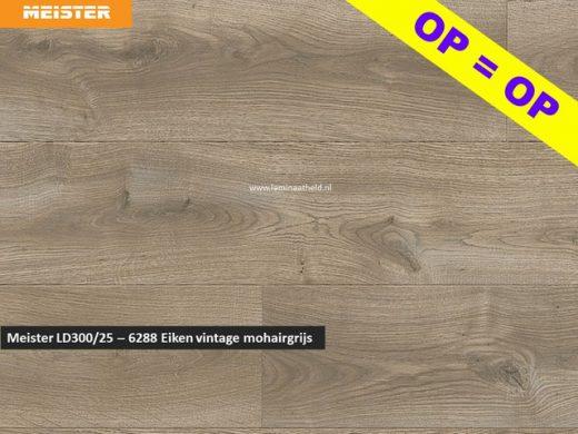 Meister LD300/25 - 6288 Eiken vintage mohairgrijs