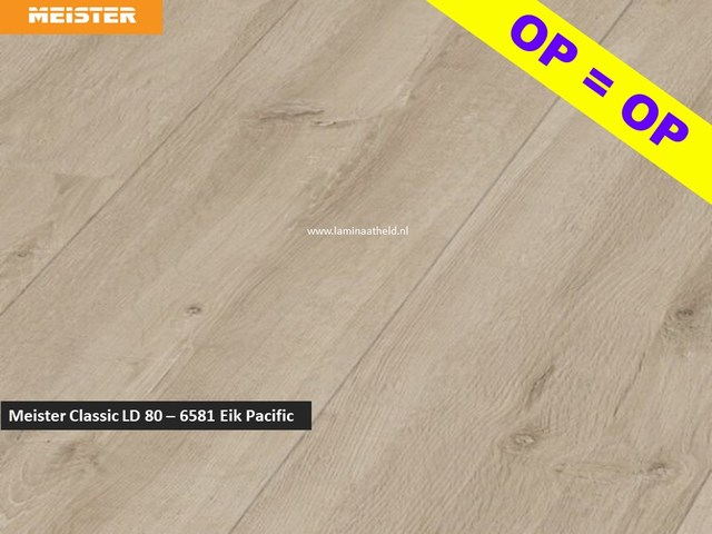Meister LD80 - 6581 Eik Pacific