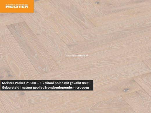 Meister PS 500 - Eik vitaal polar-wit gekalkt 8803