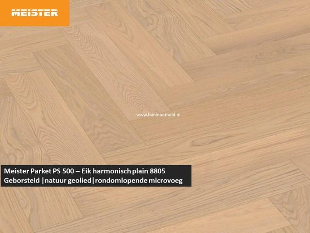 Meister PS 500 - Eik harmonisch plain 8805