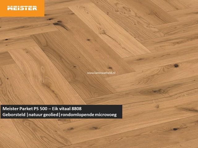 Meister PS 500 - Eik vitaal 8808