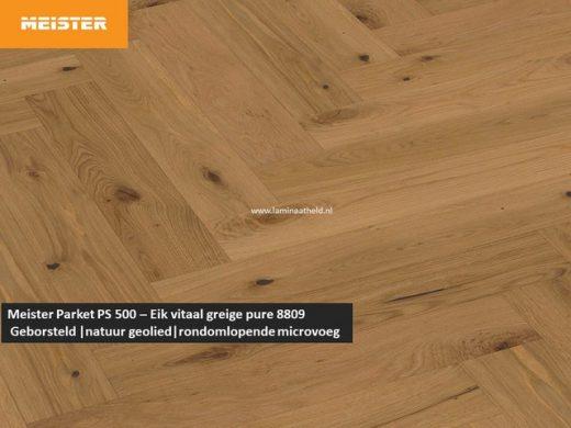 Meister PS 500 - Eik vitaal greige pure 8809