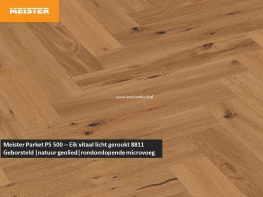 Meister PS 500 - Eik vitaal licht gerookt 8811