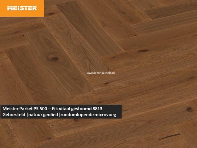 Meister PS 500 - Eik vitaal gestoomd 8813