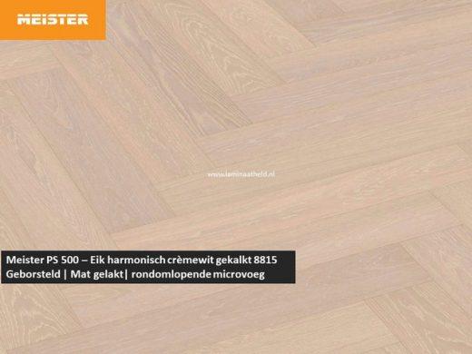 Meister PS 500 - Eik harmonisch crèmewit gekalkt 8815