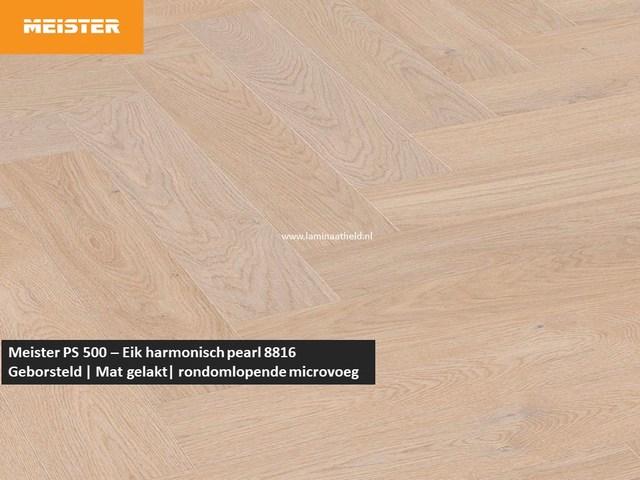 Meister PS 500 - Eik harmonisch pearl 8816