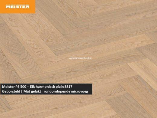 Meister PS 500 - Eik harmonisch plain 8817