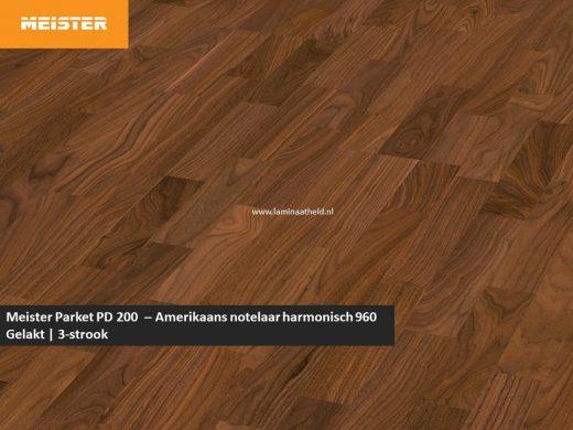 Meister PC 200 - Amerikaans notelaar harmonisch 960